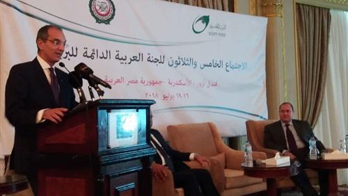 وزير الاتصالات يتفقد أعمال التطوير بسنترالات الإسكندرية
