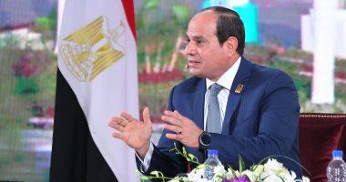 السيسى : مصر مستعدة لزيادة التدريب والدعم لبناء كوادر اليمن
