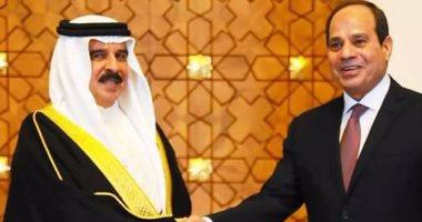 ملك البحرين فى اتصال هاتفى بالسيسى: نتمنى لمصر الخير والتقدم