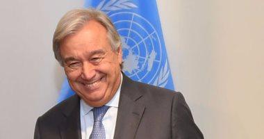 الأمين العام للأمم المتحدة يدعو لدعم جهود مصر لوقف التصعيد بغزة