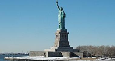 إجلاء آلاف الزوار من جزيرة تمثال الحرية فى نيويورك بسبب حريق