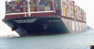الفريق مهاب مميش: عبور 48 سفينة بحمولة 3.2 مليون طن