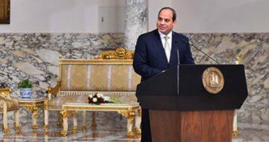 الرئيس السيسى يصدق على قوانين الجمارك وإقامة الأجانب بمصر ومنح الجنسية