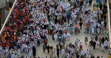 13.6 ألف حاج مصرى يتوجهون من مكة إلى المدينة المنورة غدا