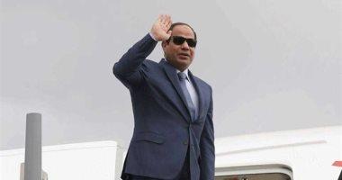 الرئيس السيسى يصل مقر إقامته فى نيويورك