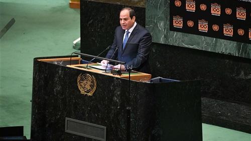 فرج عامر: السيسى كان حاسما فى انتقاداته الحادة للأمم المتحدة من منبرها