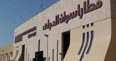 مطار أسوان يستقبل 5 رحلات إضافية اليوم بعد زيادة أعداد السياحة الداخلية