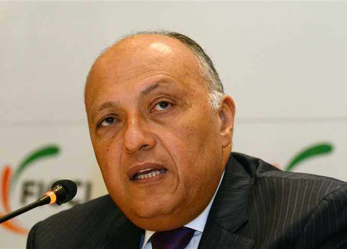 وزير الخارجية المصري سامح شكري - صورة أرشيفية