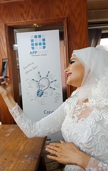 مليون مشاهدة لعروس تغني ليلة زفافها (فيديو)