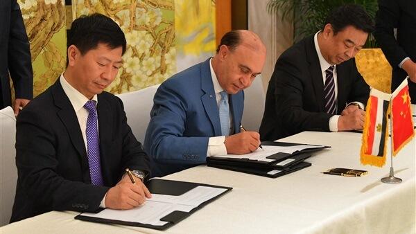 الرئيس السيسي يجتمع بعدد من رؤساء الشركات الصينية