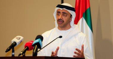 وزير خارجية الإمارات : ناقشت مع الرئيس السيسي التحديات المشتركة