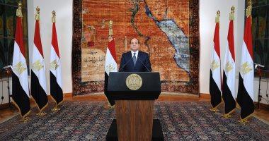 الرئيس السيسي يرسل برقية تهنئة للملك سلمان بمناسبة العيد الوطنى للسعودية