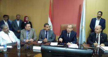 محافظ كفر الشيخ الجديد: سنتصدى بكل حزم للتعدى على  أملاك الدولة