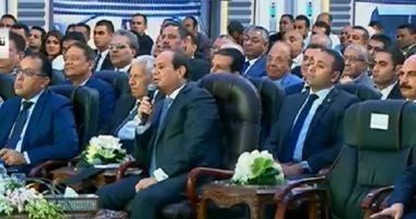 13 تكليفا من السيسى للحكومة خلال افتتاح مشروعات الطرق والكبارى