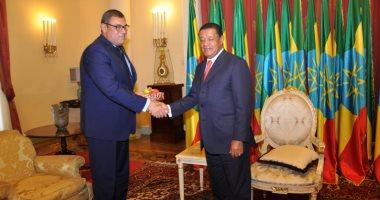الرئيس الإثيوبى يستقبل السفير المصرى قبل مغادرته أديس أبابا