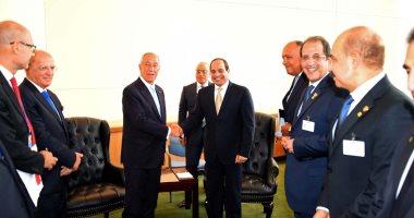 بالصور…السيسى يؤكد تقديره لمواقف البرتغال الداعمة لمصر داخل الاتحاد الأوروبى