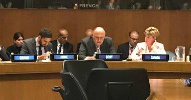 اجتماع بين وزير خارجية أمريكا ونظرائه بمصر ودول مجلس التعاون الخليجى بنيويورك