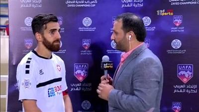 قائد النجمة اللبناني بعد فوز الأهلي: الحمد لله إنهم أربعة أهداف فقط.. فيديو