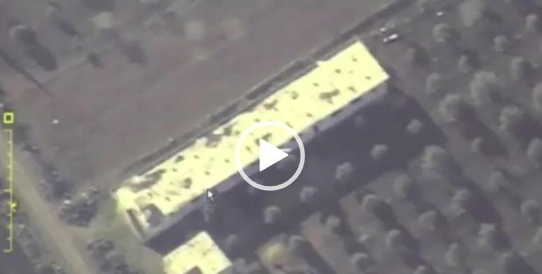 شاهد.. روسيا تنشر فيديو لقصف الإرهابيين في إدلب الخميس