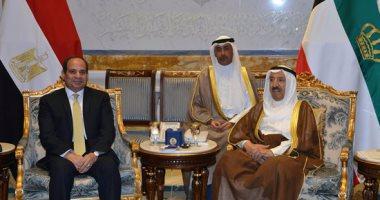 أمير الكويت مهنئا السيسى: انتصارات أكتوبر ملحمة سطرتها القوات المسلحة المصرية