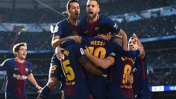 شاهد بالفيديو |شبح الهزيمة بخماسية يطارد لاعبى ريال مدريد أمام برشلونة فى كلاسيكو الأرض