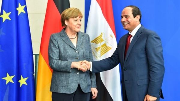 الرئيس السيسي يقوم بزيارة لألمانيا الأسبوع المقبل