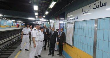 انتحار شخص أمام عجلات مترو الأنفاق بمحطة جامعة القاهرة
