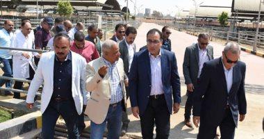 رئيس الوزراء يتفقد مدينة الشباب والرياضة بشرم الشيخ