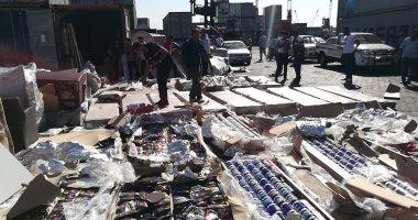 استمرار غلق بوغاز ميناء الإسكندرية والدخيلة اليوم الثانى على التوالى