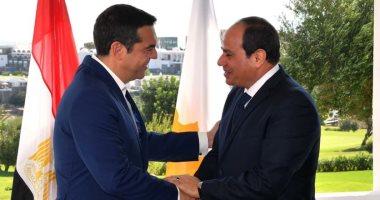 السيسي يصل القاهرة عقب حضور القمة الثلاثية بين مصر وقبرص واليونان