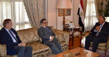 شكرى: مصر حريصة على التعاون مع الأمم المتحدة لتحقيق التنمية المستدامة 2030