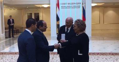 رئيسة المجلس الفيدرالى الروسى: الرئيس السيسي سياسى محنك حظى بحب المصريين