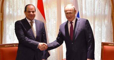بعد قليل.. الرئيسان السيسي وبوتين يتحدثان إلى وسائل الإعلام من سوتشى.. صور