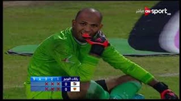 حارس المنصورة يتصدى لـ 3 ركلات ترجيح ويطيح بـ الداخلية من كأس مصر.. فيديو