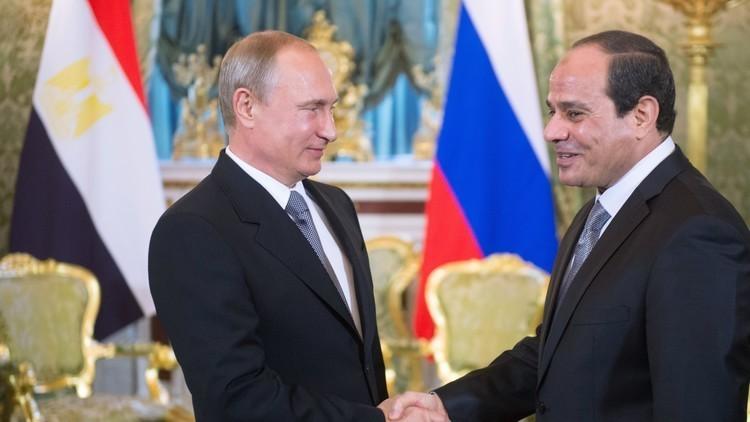 وسائل الإعلام الروسية تحتفى بزيارة السيسى المرتقبة لموسكو