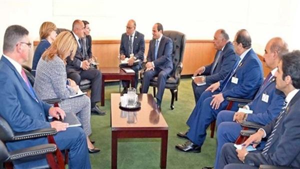 تفاصيل المباحثات المصرية البلغارية بقصر الاتحادية