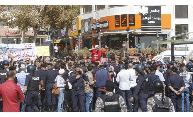 مسيرة بالأردن للمطالبة باسترداد «الغمر والباقورة» من إسرائيل
