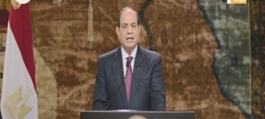 الرئيس السيسي: مصر أثبتت أن الحفاظ على التراب الوطني واجب مقدس