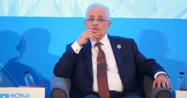 طارق شوقى: العلامات الأولية لنظام التعليم جيدة.. وتوزيع التابلت خلال أيام