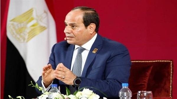 السيسي: مصر وضعت دستورا قويا ذو أسس راسخة للحفاظ على البيئة
