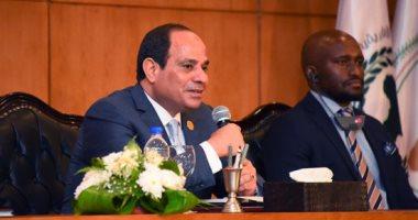 السيسي: على الآخرين احترام الأمن العربى وجيش مصر سيتحرك لحماية أشقائه بالخليج