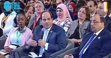 السيسي: نريد ألا تؤثر عملية ملء خزان سد النهضة على حصة مصر المائية