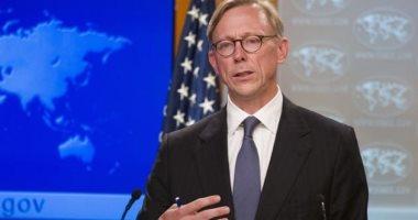 بريان هوك الممثل الخاص لوزارة الخارجية الأمريكية
