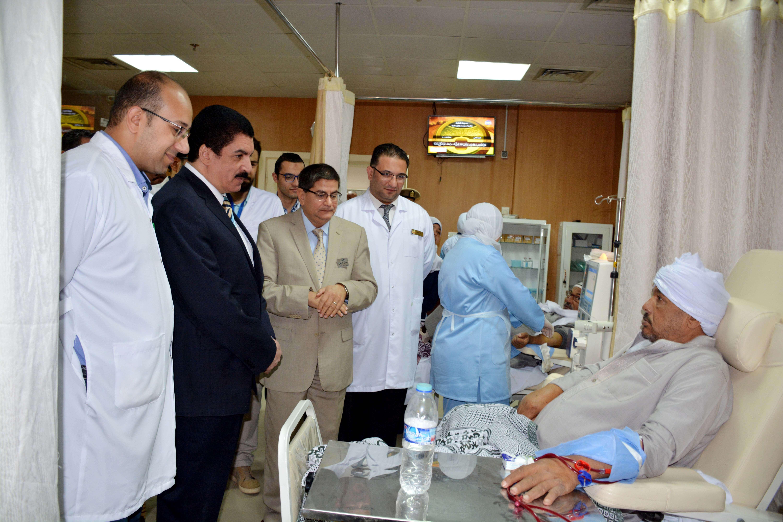 محافظ القليوبية: 372 عملية جراحية لمستشفى التأمين الصحى ببنها خلال شهر أكتوبر