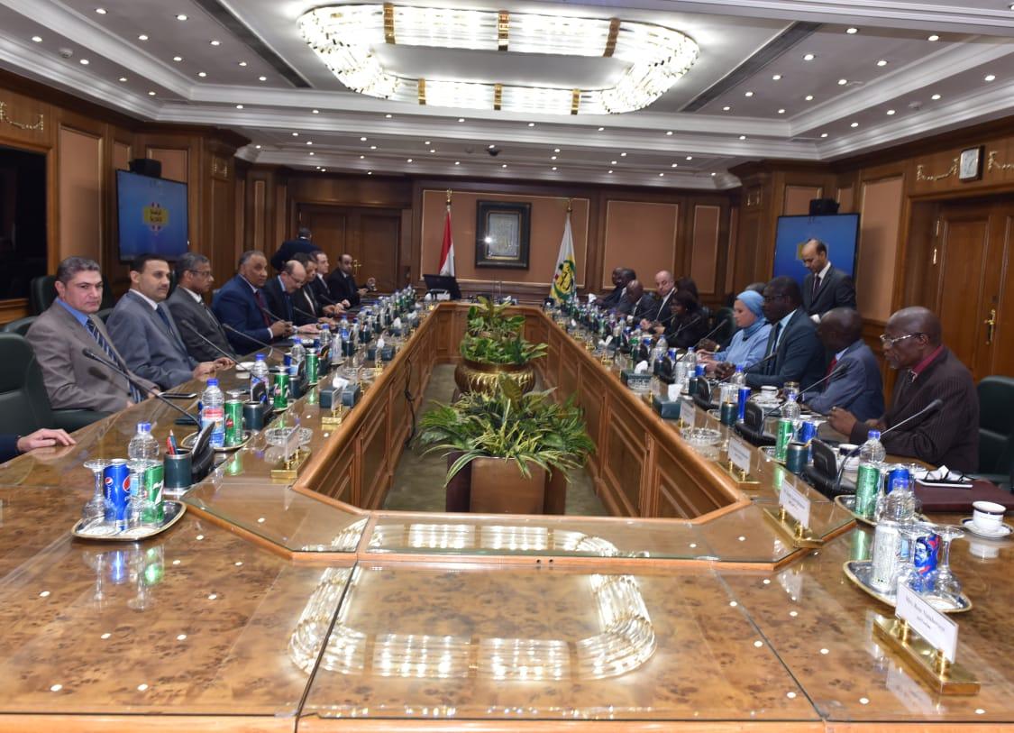 اجتماع المجلس التنفيذى لاتحاد هيئات مكافحة الفساد للدول الأفريقية بالرقابة الإدارية