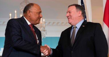 وزيرا خارجية مصر وأمريكا يبحثان التحضيرات لجولة آلية الحوار الاستراتيجى