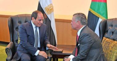 سفير مصر الجديد لدى الأردن يُقدم أوراق اعتماده للملك عبد الله الثانى