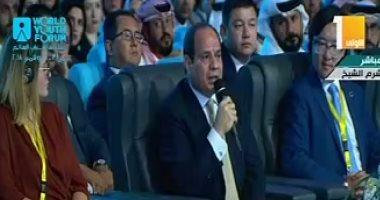 السيسي: نتألم لسقوط أى مصرى بحادث إرهابى وتصحيح الخطاب الدينى ضرورة