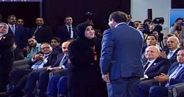 الرئيس السيسي يعتذر لأسرة عبد الوهاب يسرى ويتعهد باطلاق اسمه على منشأة