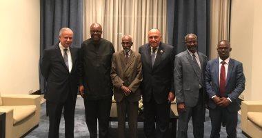 سامح شكرى: مصر حريصة على تقديم كل الدعم الممكن للدول الأفريقية